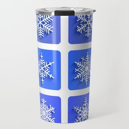 Snowflakes collection Travel Mug