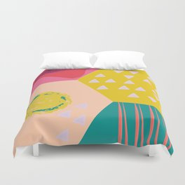 Abstract Game Duvet Cover
