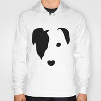 jack russell Hoodies featuring Jack Russell by Dizzy Moments
