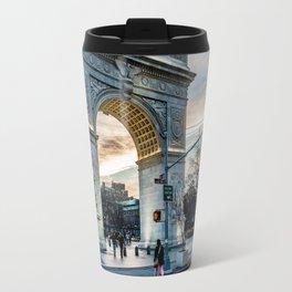 Washington Square Park, Greenwich Village NYC Travel Mug