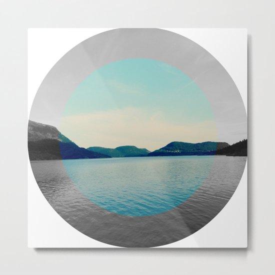 Circled life Metal Print