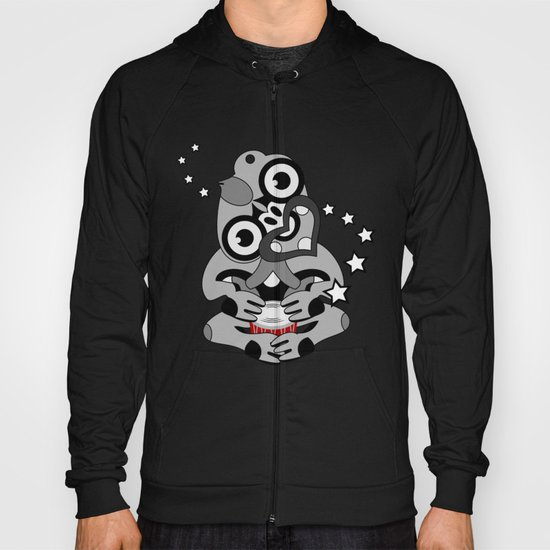 Hei Tiki New Zealand Drum Hoody