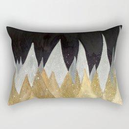 Six Snowy Trees Rectangular Pillow