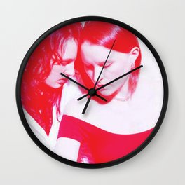 Lovers Game  Wall Clock