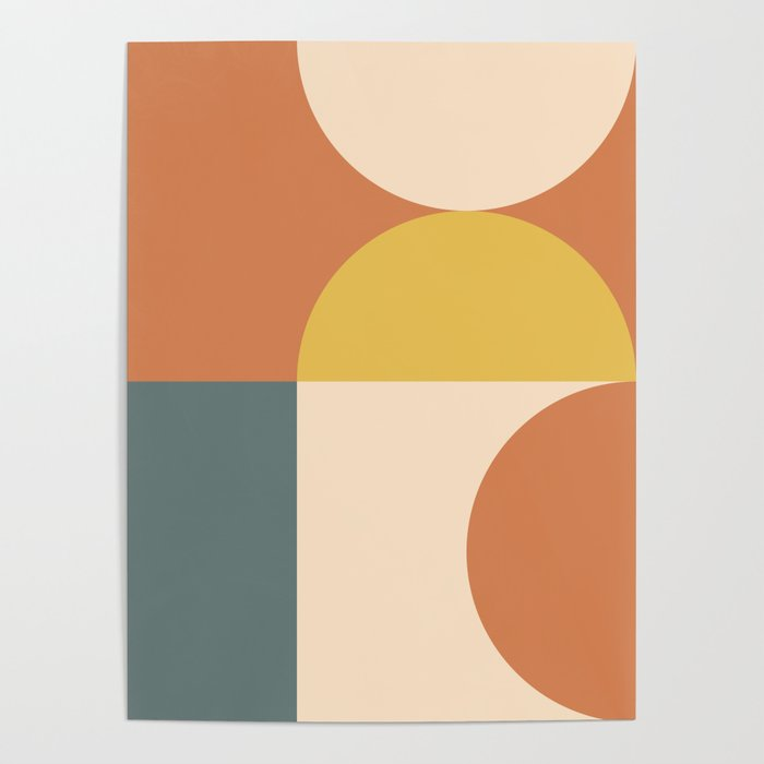 Abstract Geometric 04 Poster