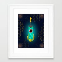 transistor Framed Art Prints featuring Transistor by CyberneticGhost