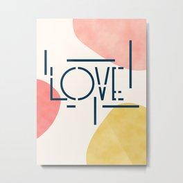 Pieces Of Love Metal Print