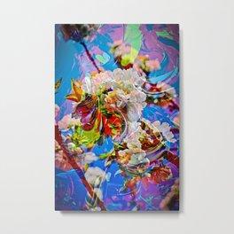 Abstract Perfekion - Spring Metal Print