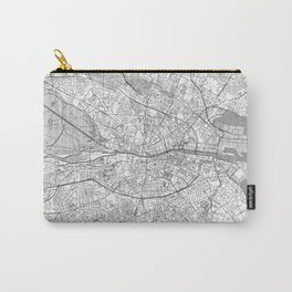 Dublin Map Line Carry-All Pouch