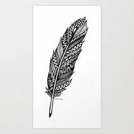 Piuma Art Print