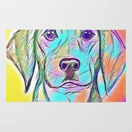Color Dog Rug