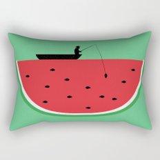 Watermelon Fisher Rectangular Pillow
