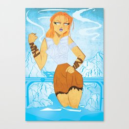 Modgud of Niflheim Canvas Print