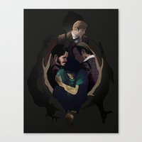hannibal Canvas Prints featuring Hannibal by Valachhim