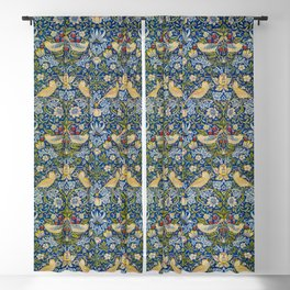 Printed Fabric Strawberry Thief by William Morris Blackout Curtain