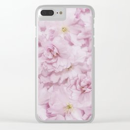 Sakura- Cherry Blossom pattern Clear iPhone Case