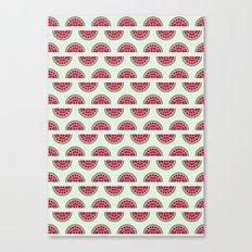 Watermelon Love Canvas Print
