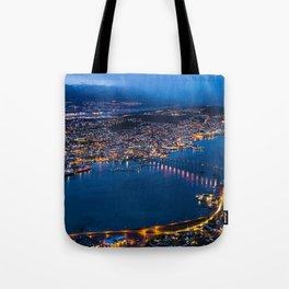 Panoramic Tromso Tote Bag
