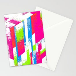 Fractured Cube Stationery Cards