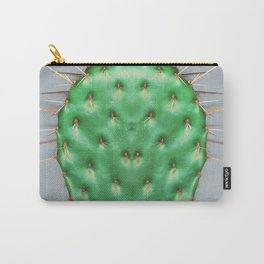Prickly Pear Cactus Pad Carry-All Pouch