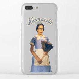 Mamacita- Feud Clear iPhone Case