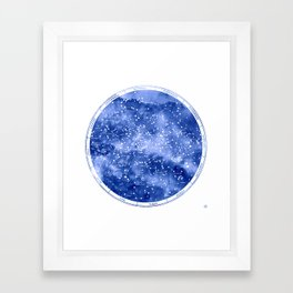 Northern Stars Framed Art Print