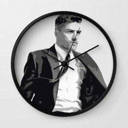 Oscar Isaac 7 Wall Clock