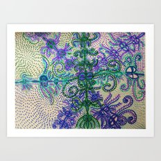 Waking and Dreaming Art Print