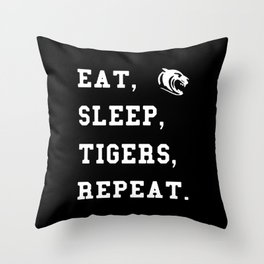 This Tigers Rugby Throw Pillow