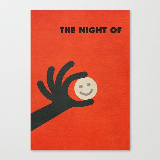 The Night Of Minimalist Poster Canvas Print