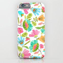 Cut Flowers iPhone Case