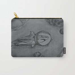 Outer Space Shark Carry-All Pouch