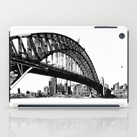 sydney iPad Cases featuring sydney by Jette Geis