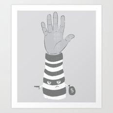 Armed Robbery Art Print
