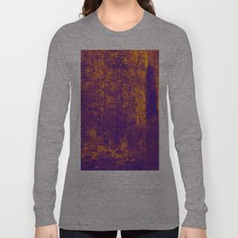 OVER THE RIVER AND INTO THE ABYSS Long Sleeve T-shirt