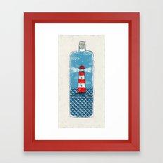 Lighthouse - Limited Time  Framed Art Print