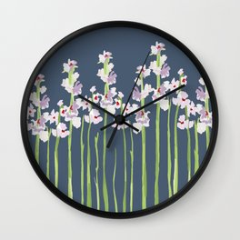 Marshmallows Wall Clock