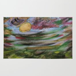 Tumultuous Clouds Rug
