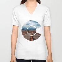 colorado V-neck T-shirts featuring Colorado by Spyck