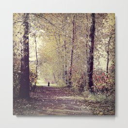 Story Book Forest Metal Print