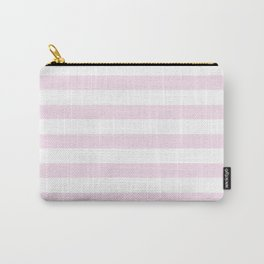 Simply Striped in Desert Rose Pink Carry-All Pouch