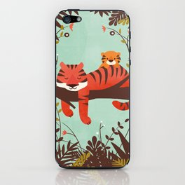 Sleeping Tiger iPhone Skin