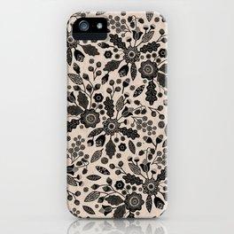 Maryland - Floral Album iPhone Case