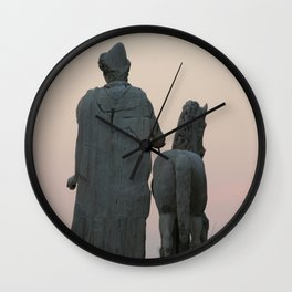 Watching the Sunset from the Capitol Wall Clock