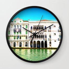 Ca' D'Oro Palace - Venice, Italy Wall Clock