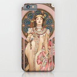 "Alphonse Mucha ""Dry Imperial"" iPhone Case"