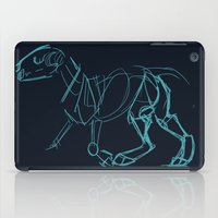 bull terrier iPad Cases featuring Bull Terrier by Tooel