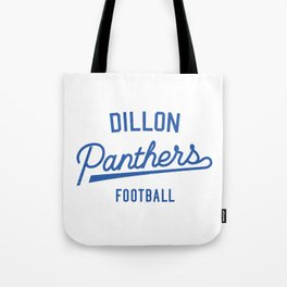 Dillon Panthers Football - Blue Tote Bag