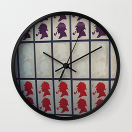 Sherlock in London Wall Clock
