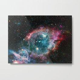 Galaxy and nebula Metal Print
